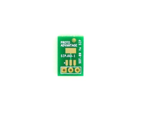 SOT-89-3 to SIP SMT Adapter 0