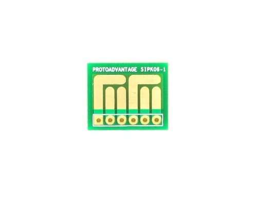 SOT-23, 3mm and 4mm inductor adapter -  6 pin 0
