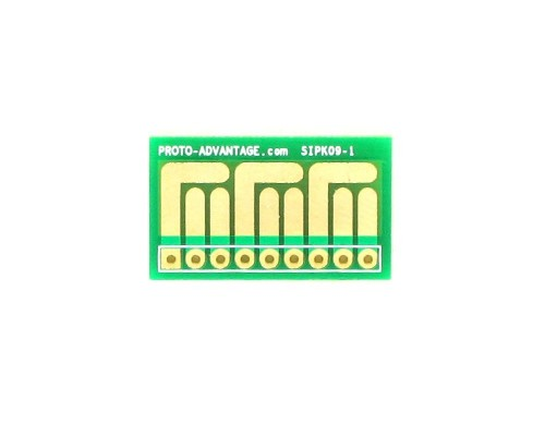 SOT-23, 3mm and 4mm inductor adapter -  9 pin 0