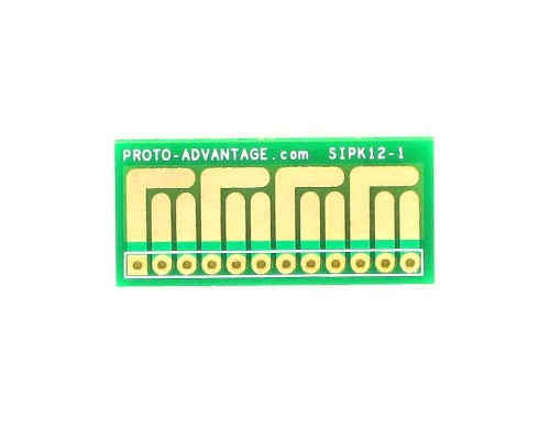 SOT-23, 3mm and 4mm inductor adapter - 12 pin 0