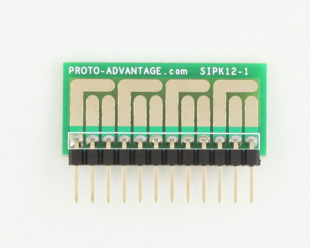 SOT-23, 3mm and 4mm inductor adapter - 12 pin 1