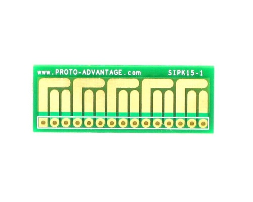SOT-23, 3mm and 4mm inductor adapter - 15 pin 0
