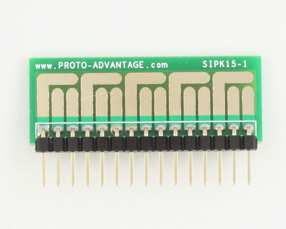 SOT-23, 3mm and 4mm inductor adapter - 15 pin 1