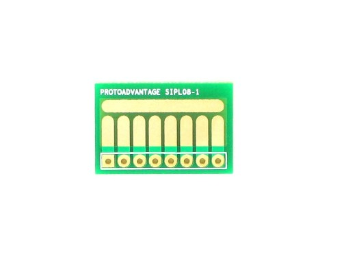 SOT-23, 3mm and 4mm inductor adapter, common trace -  8 pin 0