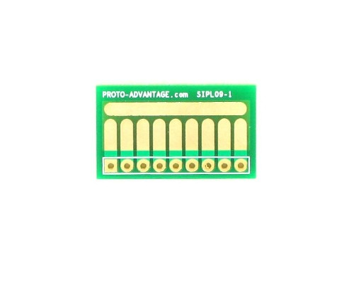 SOT-23, 3mm and 4mm inductor adapter, common trace -  9 pin 0