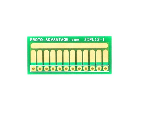 SOT-23, 3mm and 4mm inductor adapter, common trace - 12 pin 0