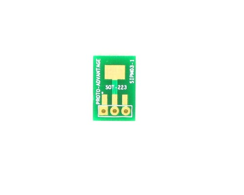 SOT-223 to SIP SMT Adapter 0