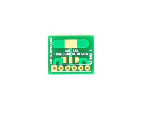 SOT-223 to SIP SMT Adapter (High Current) 0