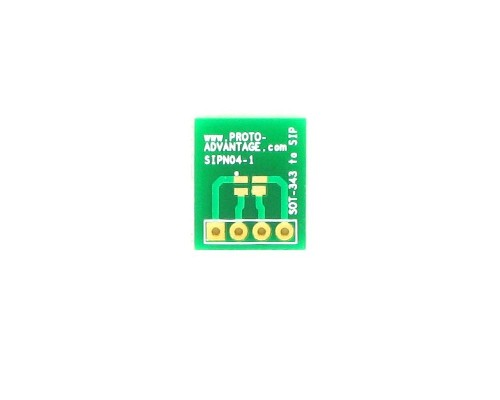 SOT-343 to SIP SMT Adapter 0