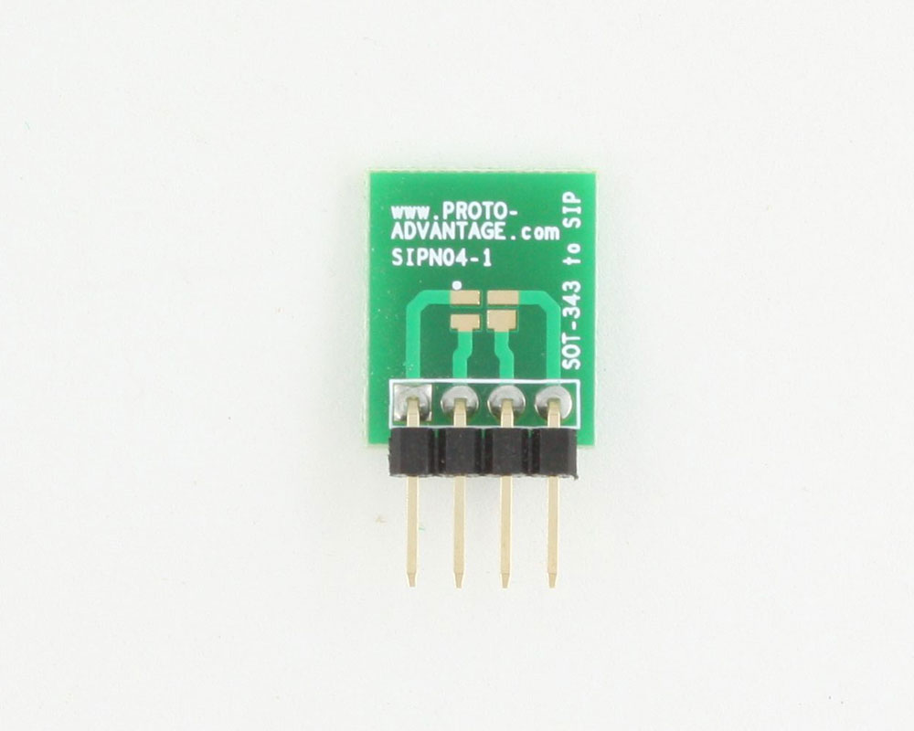 SOT-343 to SIP SMT Adapter 1