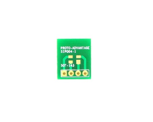 SOT-143 to SIP SMT Adapter 0