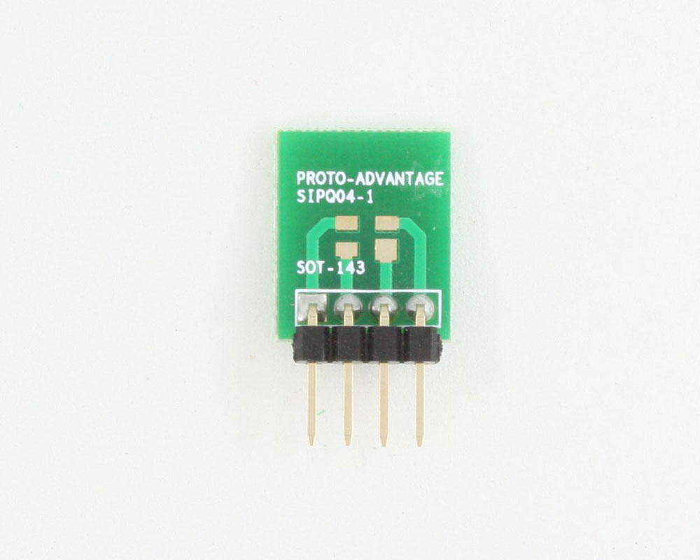 SOT-143 to SIP SMT Adapter 1