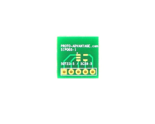 SOT-23-5 to SIP SMT Adapter 0