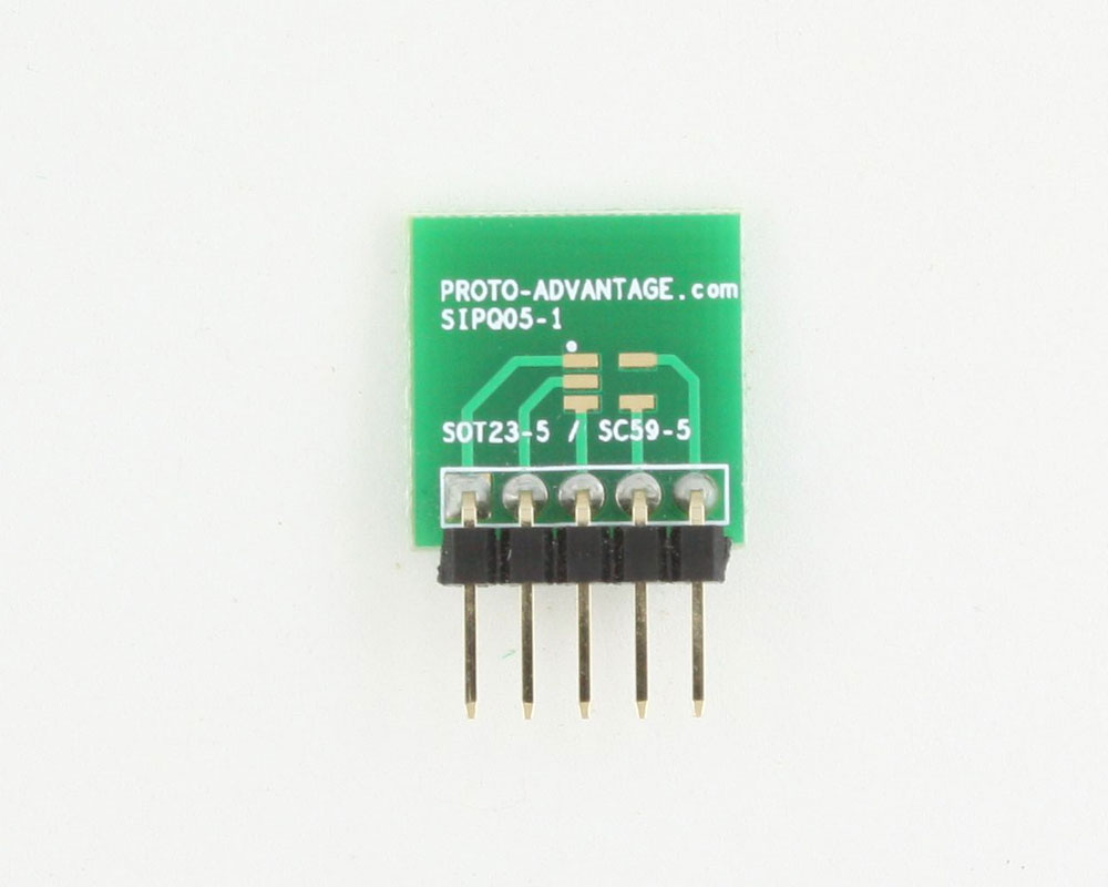 SOT-23-5 to SIP SMT Adapter 1