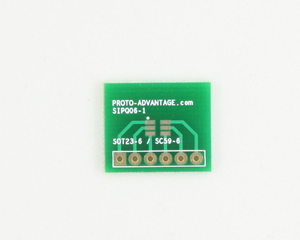 SOT-23-6 to SIP SMT Adapter 0