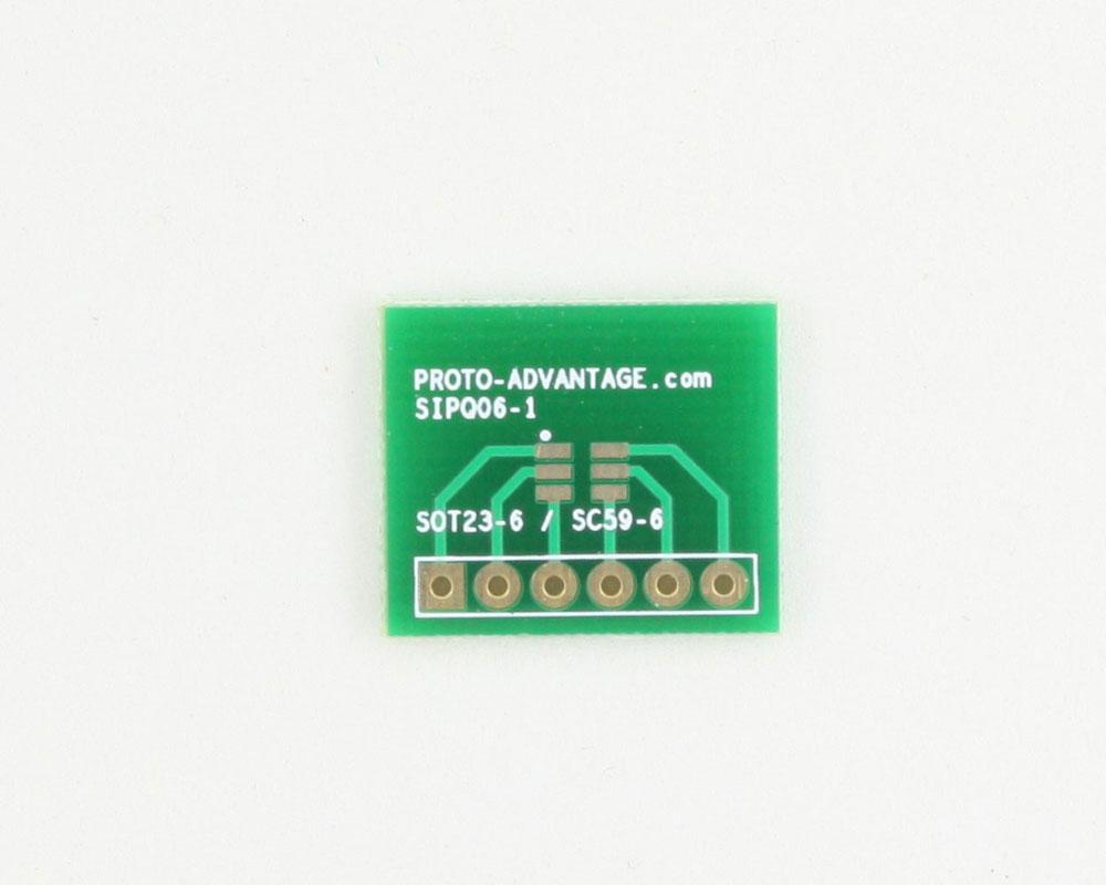 SC-59-6 to SIP SMT Adapter 0