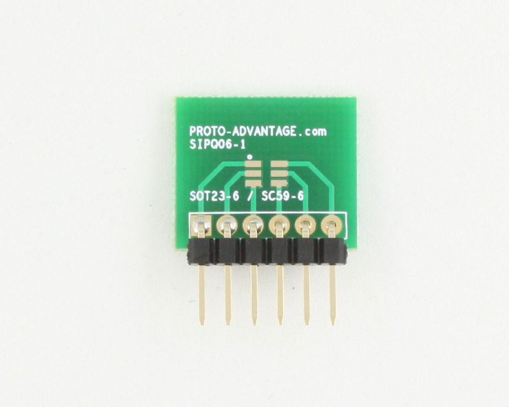 SOT-23-6 to SIP SMT Adapter 1
