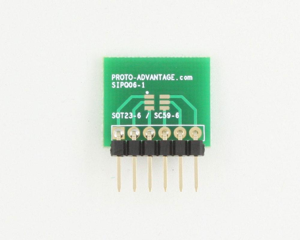 SC-59-6 to SIP SMT Adapter 1
