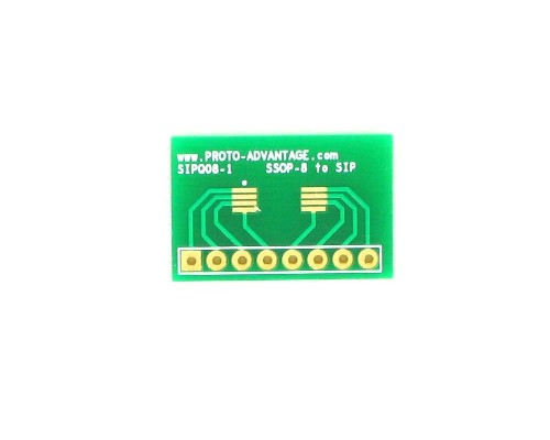 SSOP-8 to SIP SMT Adapter 0