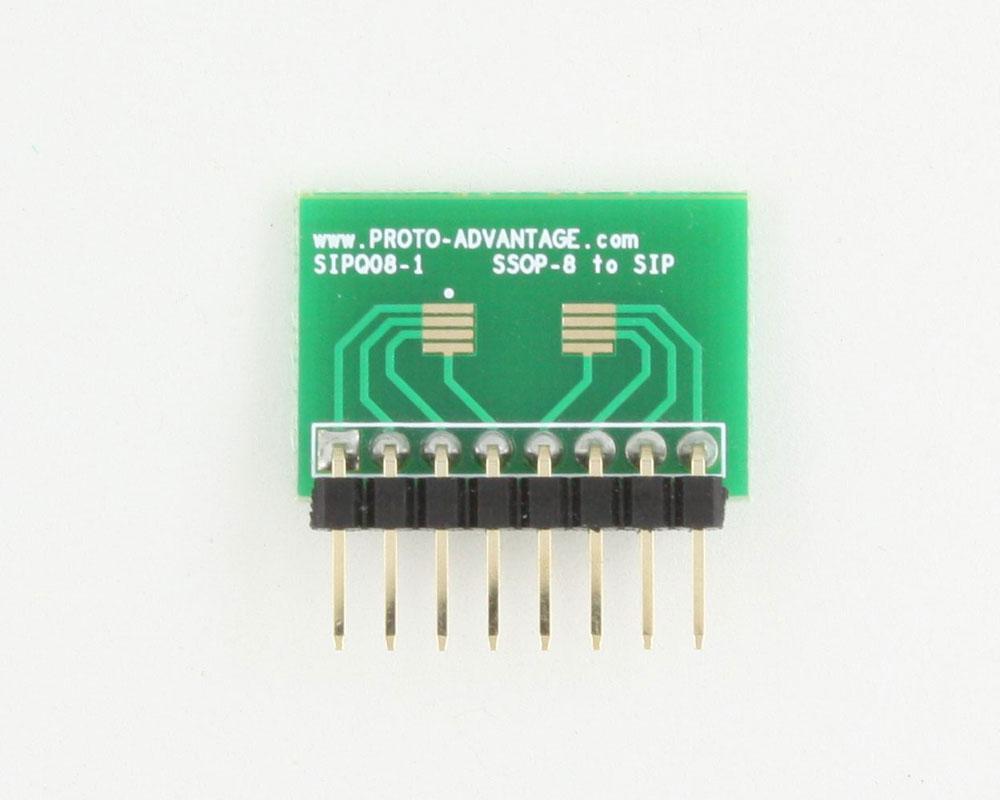 SSOP-8 to SIP SMT Adapter 1