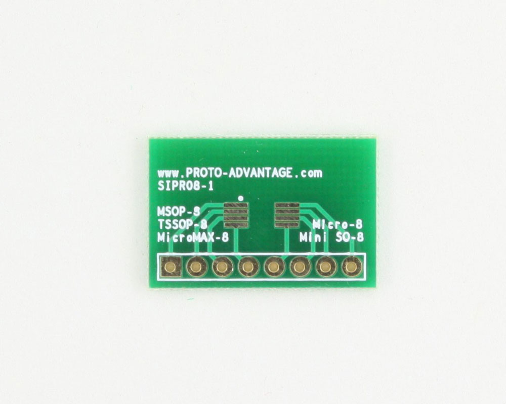 Micro-8 to SIP SMT Adapter 0