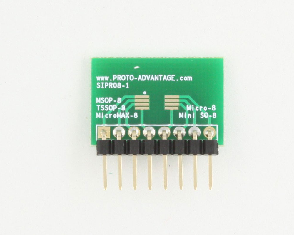 Micro-8 to SIP SMT Adapter 1