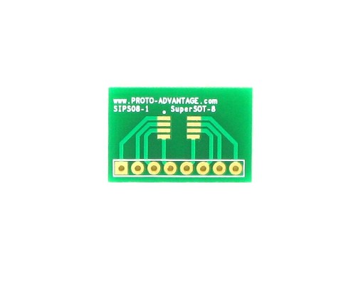 SuperSOT-8 to SIP SMT Adapter 0