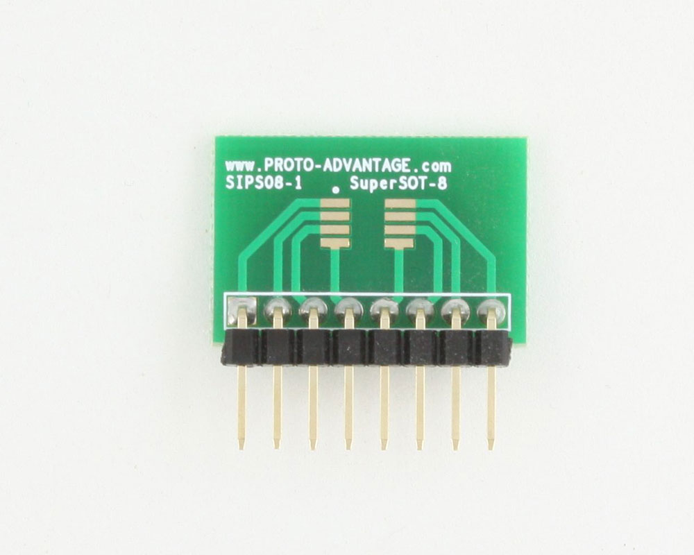 SuperSOT-8 to SIP SMT Adapter 1