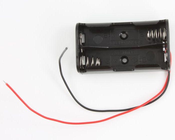 2 AA Battery Box 0