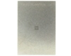 BGA-36 (0.4 mm pitch, 6 x 6 grid) Stainless Steel Stencil