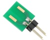 Discrete 2512 to 300mil TH Adapter - Jumper pins