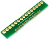Pitch Changer 3.96 mm to 2.54 mm conversion - 15 pin