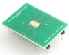 DFN-24 to DIP-28 SMT Adapter (0.5 mm pitch, 7.0 x 4.0 mm body)