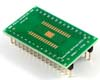 PowerPAD-28/PowerSOIC-28 to DIP-32 SMT Adapter (1.27 mm pitch, 300 mil body)