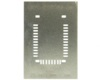 RN42 (1.2 mm pitch, 25.8 x 13.4 mm body) Stainless Steel Stencil