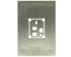 QFN-36 (0.9 mm pitch, 9 x 11 mm body) Stainless Steel Stencil